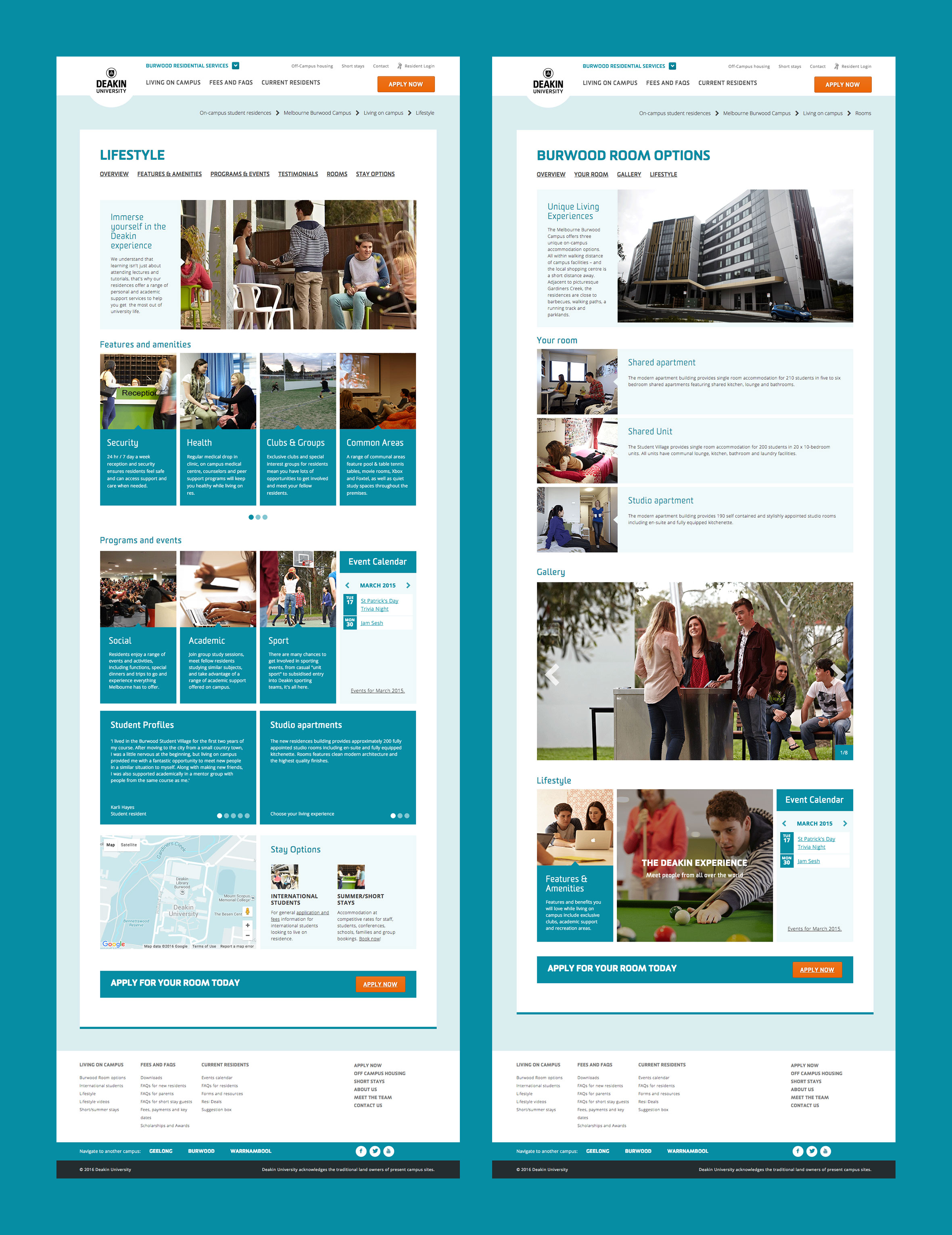 Deakin Residential Services